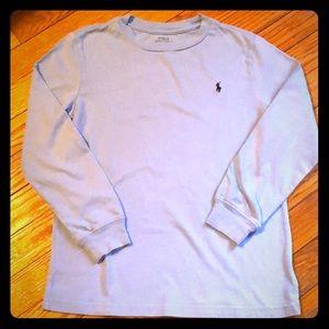 EUC Little Boys Polo Ralph Lauren L/S Tee Size 7